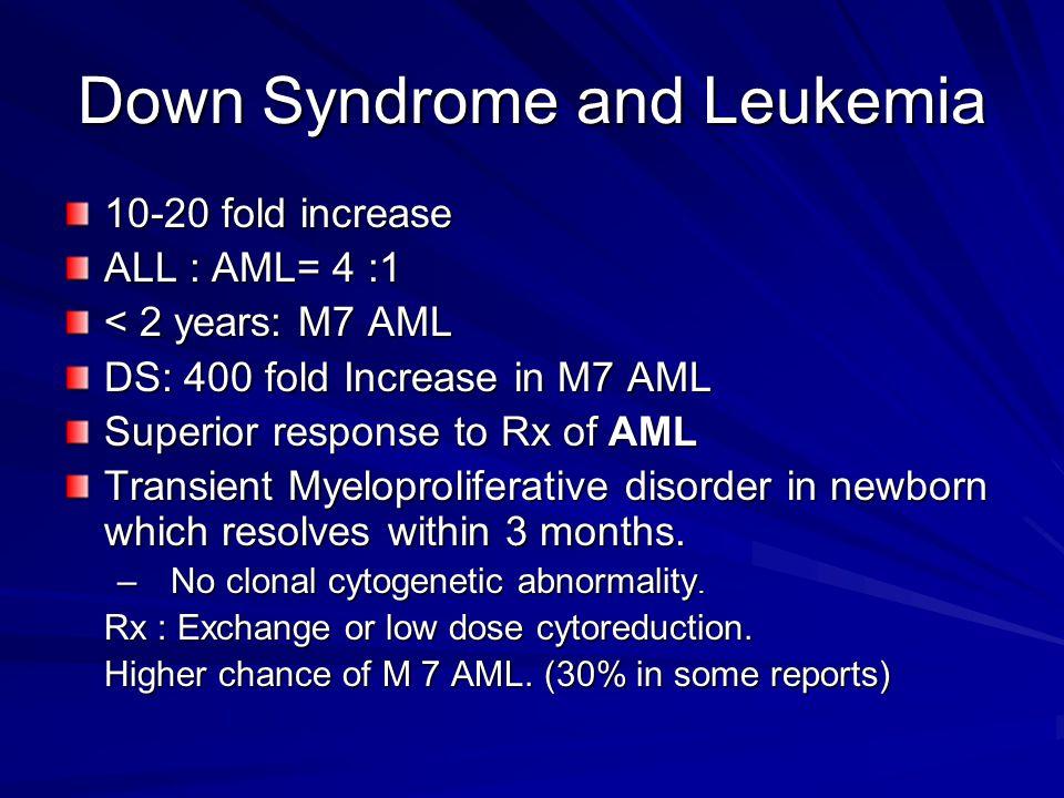 Down Syndrome and Leukemia