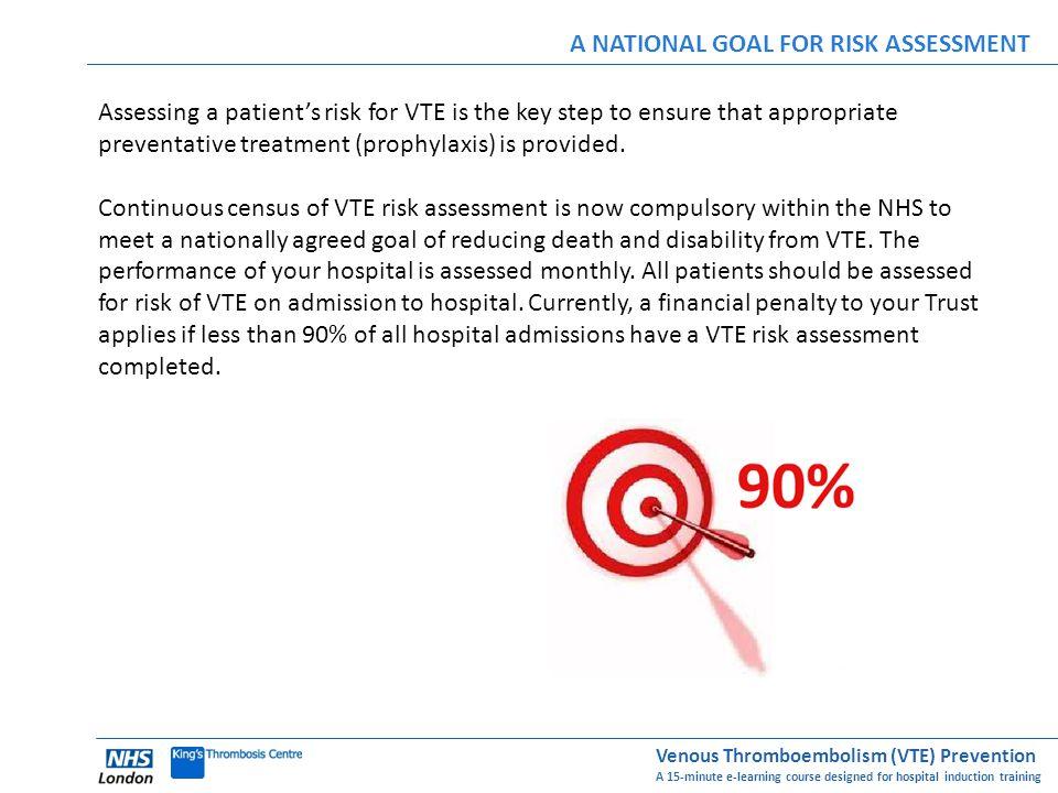 A NATIONAL GOAL FOR RISK ASSESSMENT