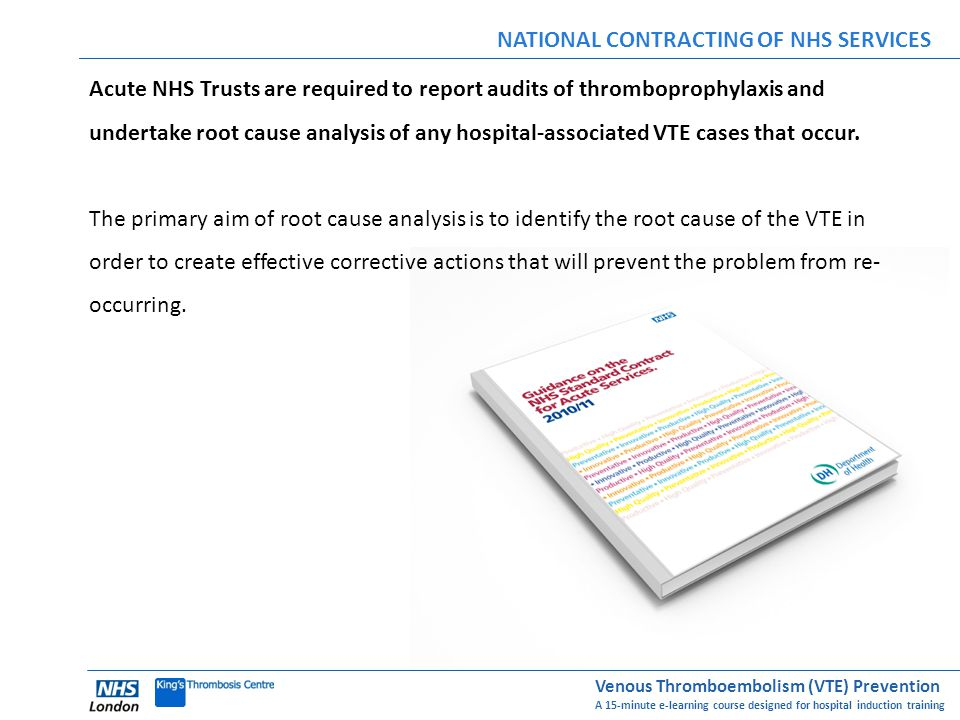 NATIONAL CONTRACTING OF NHS SERVICES