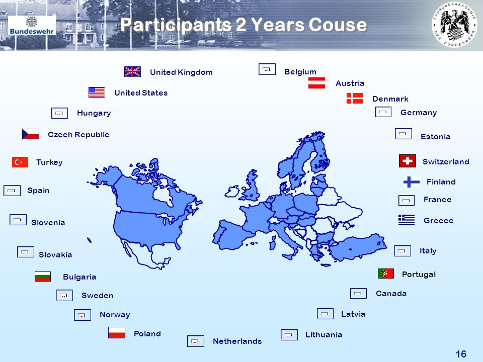 Participants 2 Years Couse