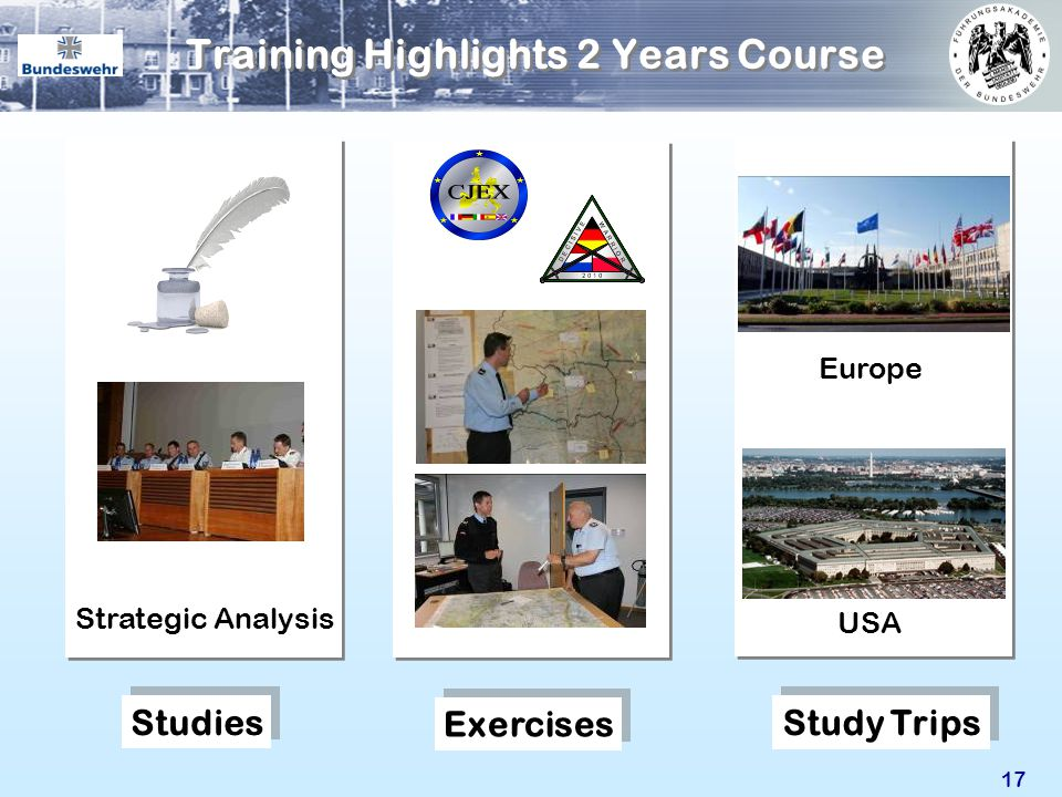 Training Highlights 2 Years Course