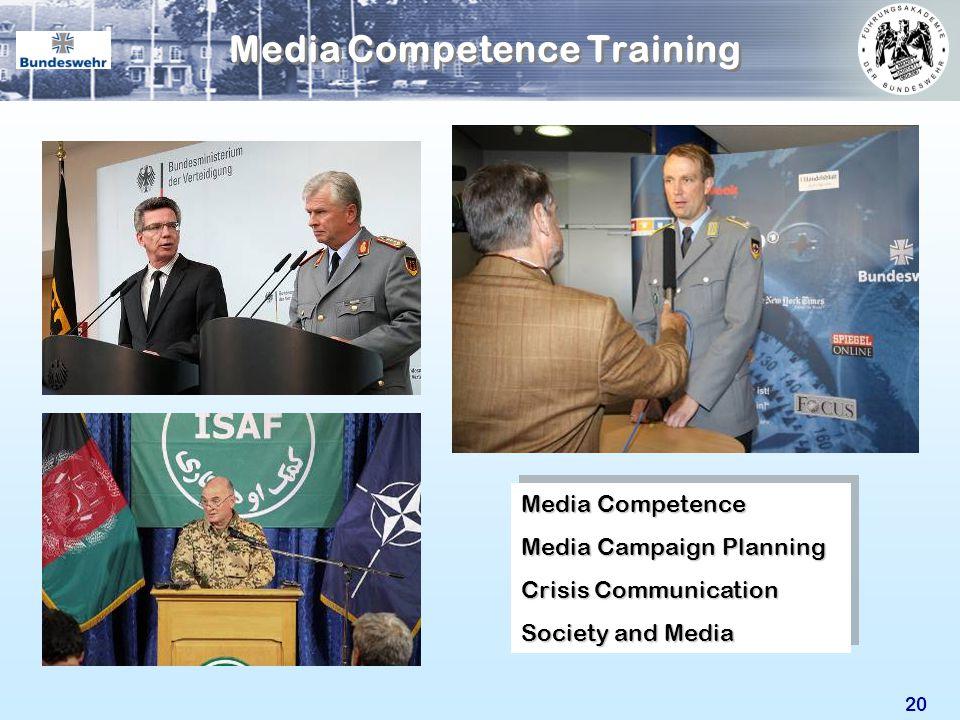Media Competence Training
