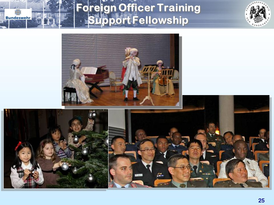 Foreign Officer Training Support Fellowship