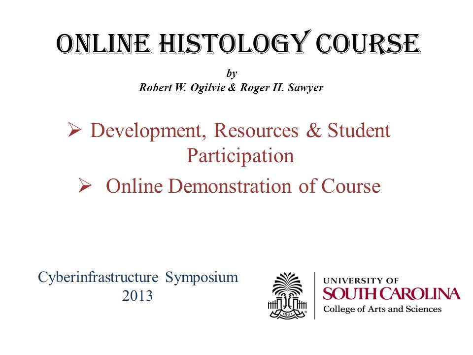 ONLINE Histology Course