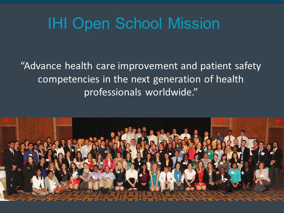 IHI Open School Mission