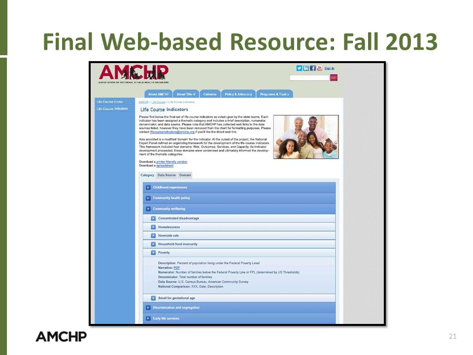 Final Web-based Resource: Fall 2013