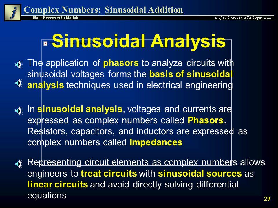 Sinusoidal Analysis