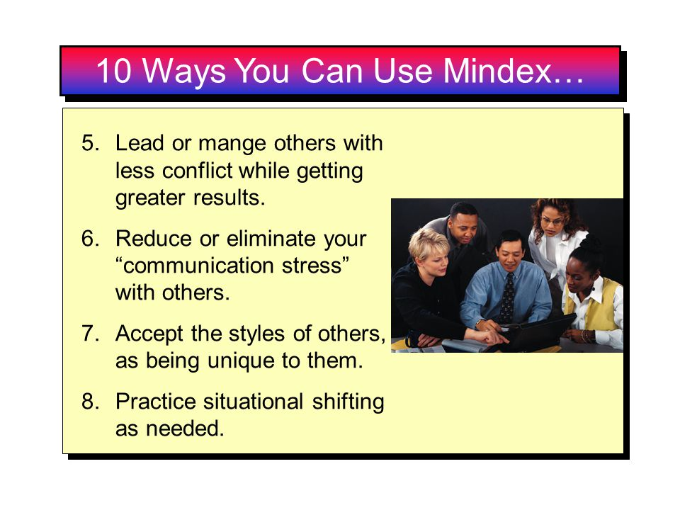 10 Ways You Can Use Mindex…
