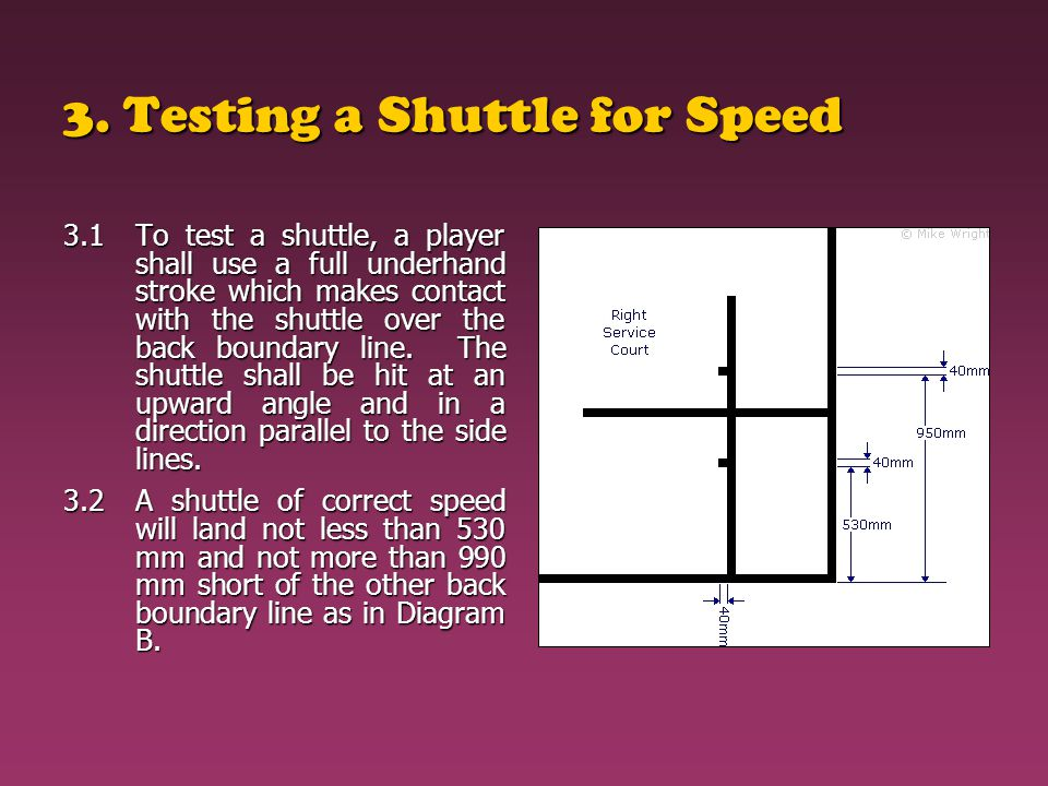 3. Testing a Shuttle for Speed