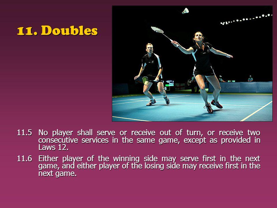 11. Doubles