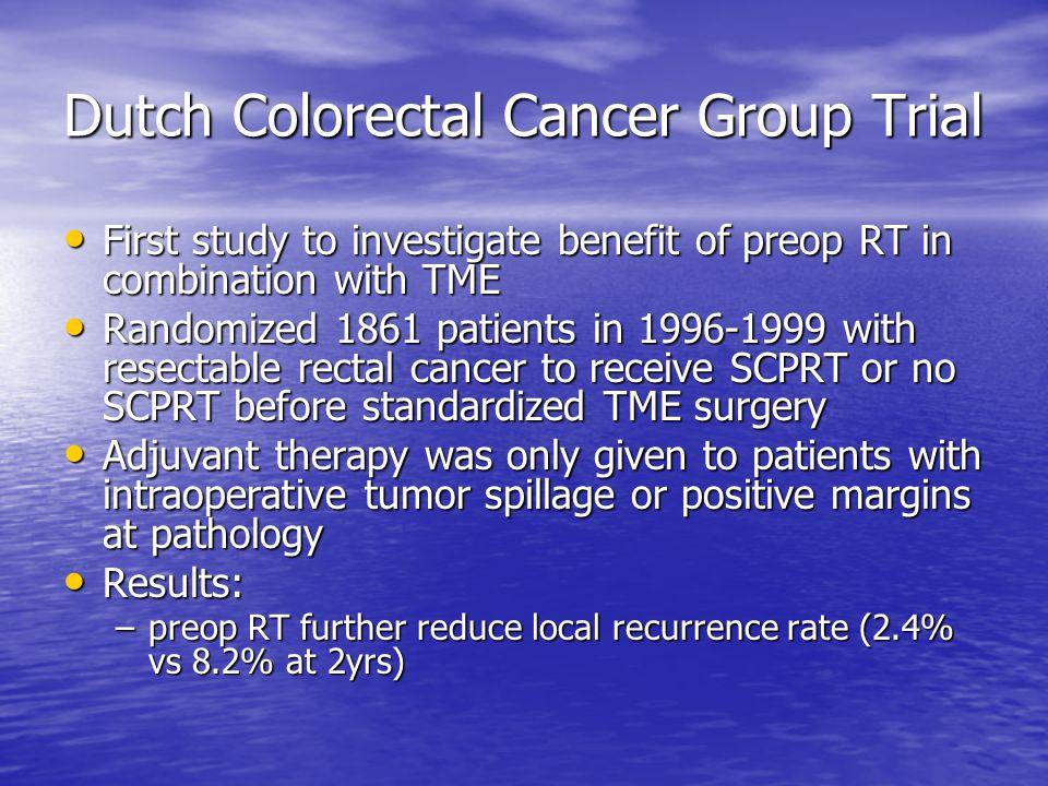 Dutch Colorectal Cancer Group Trial