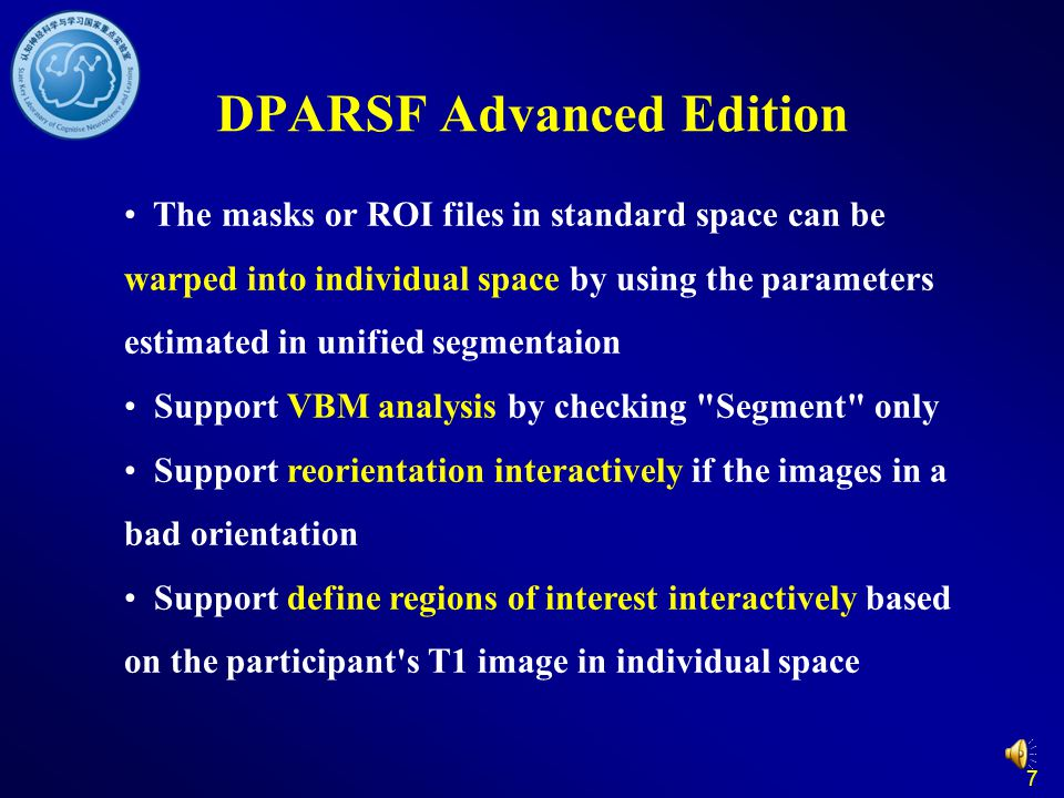 DPARSF Advanced Edition