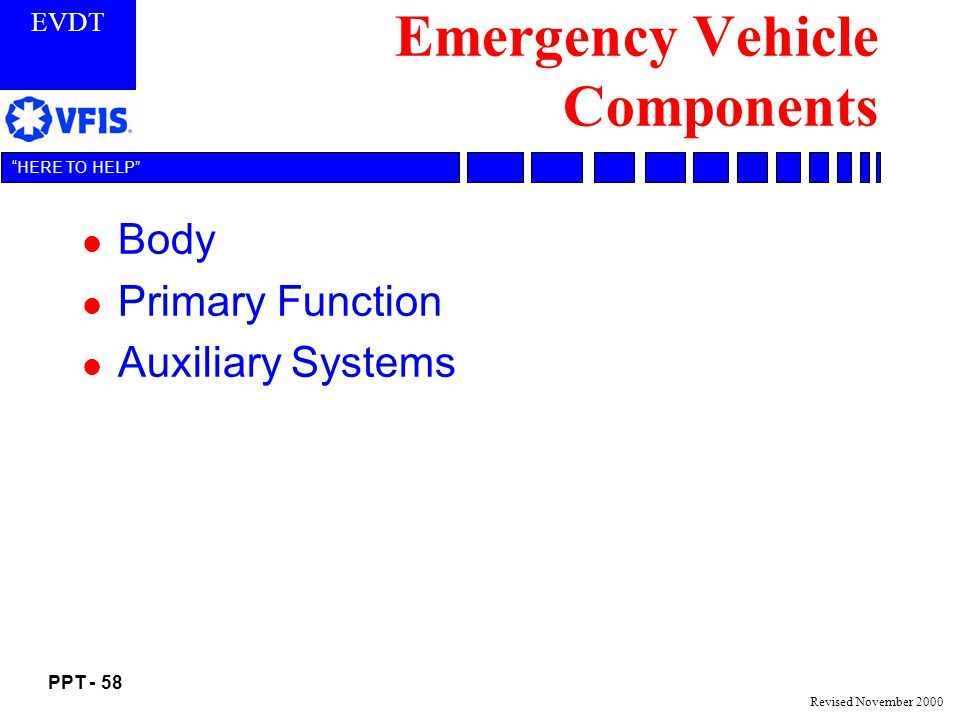 Emergency Vehicle Components