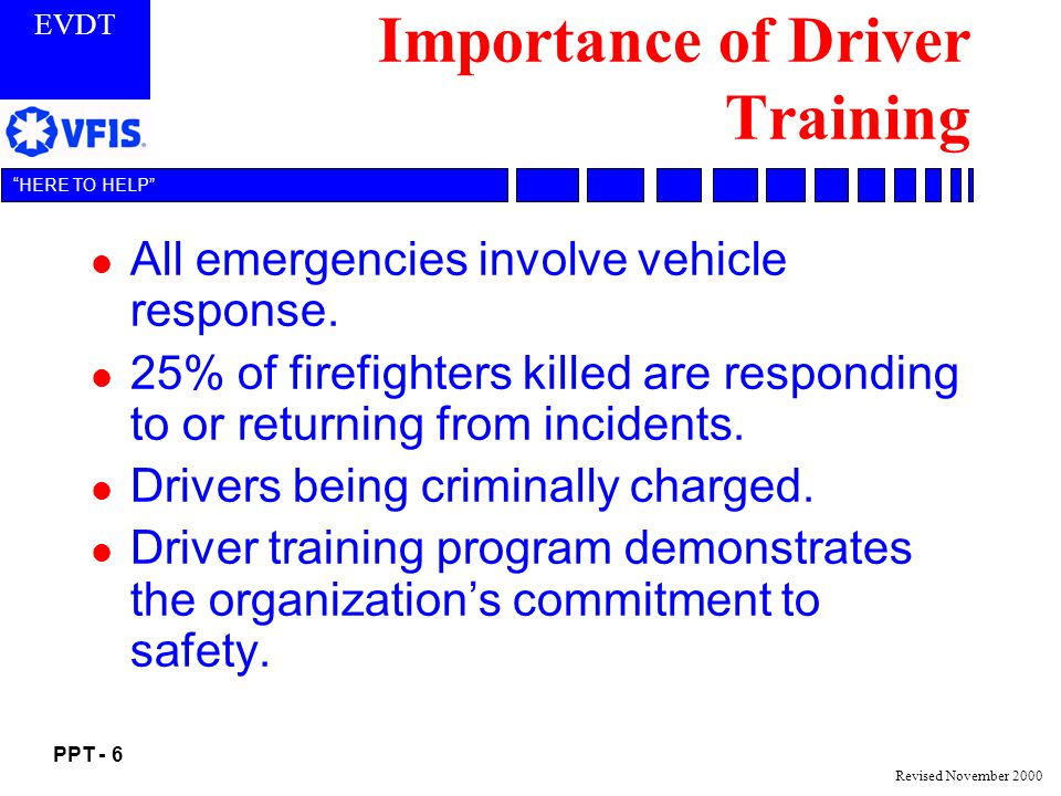 Importance of Driver Training