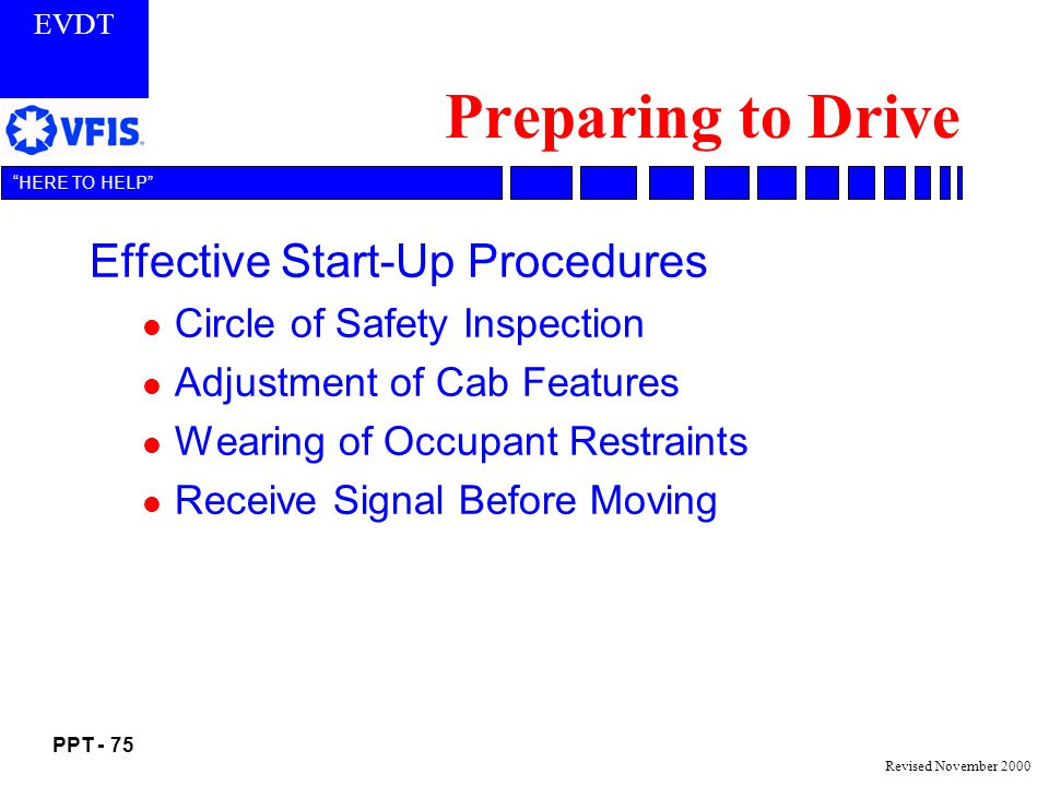 Preparing to Drive Effective Start-Up Procedures
