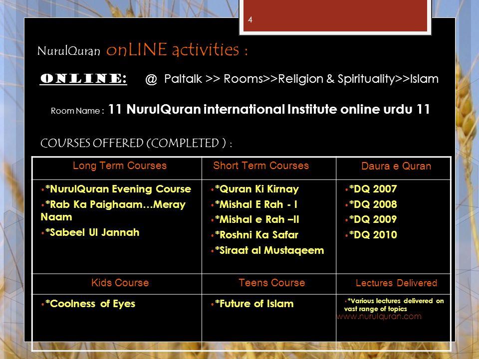 Room Name : 11 NurulQuran international Institute online urdu 11