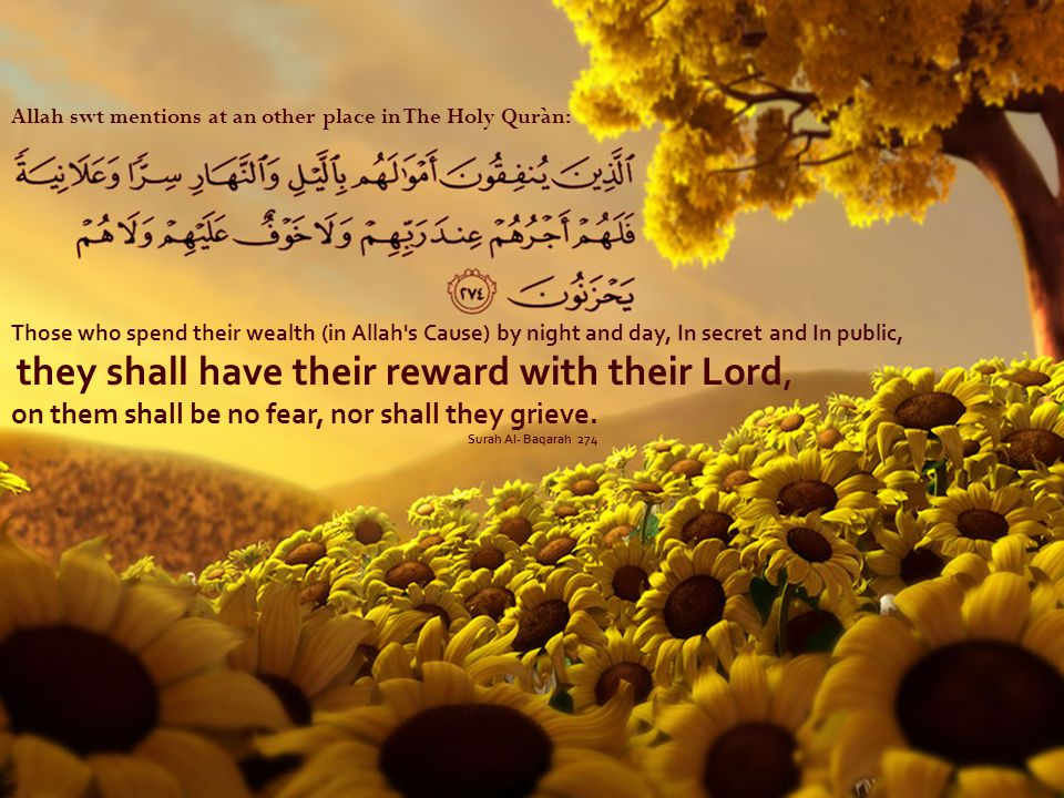 they shall have their reward with their Lord,