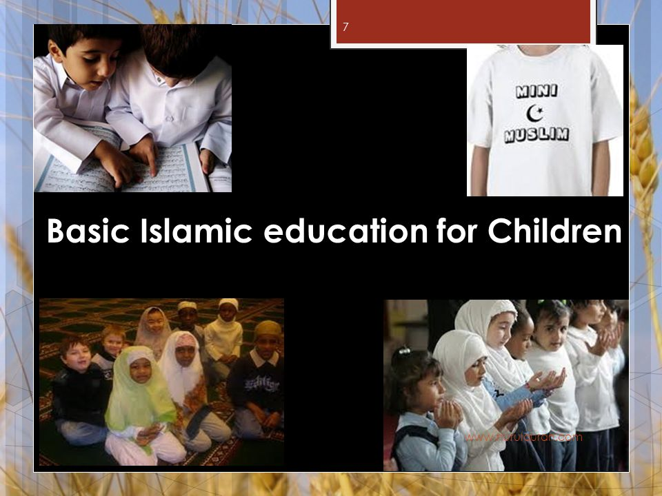 Basic Islamic education for Children