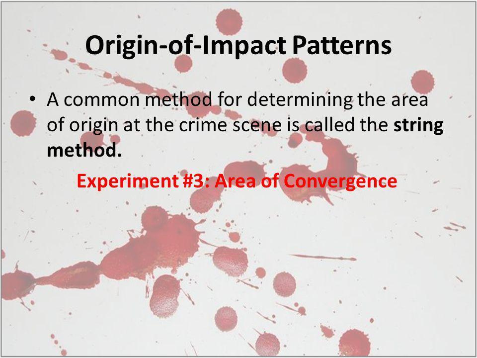 Origin-of-Impact Patterns