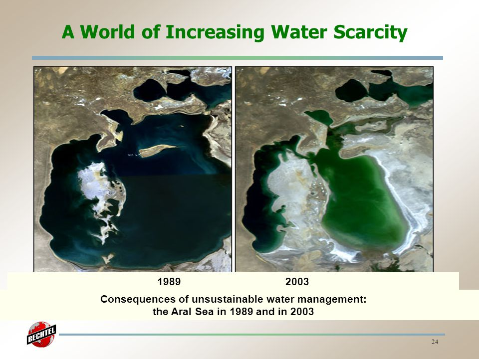 A World of Increasing Water Scarcity