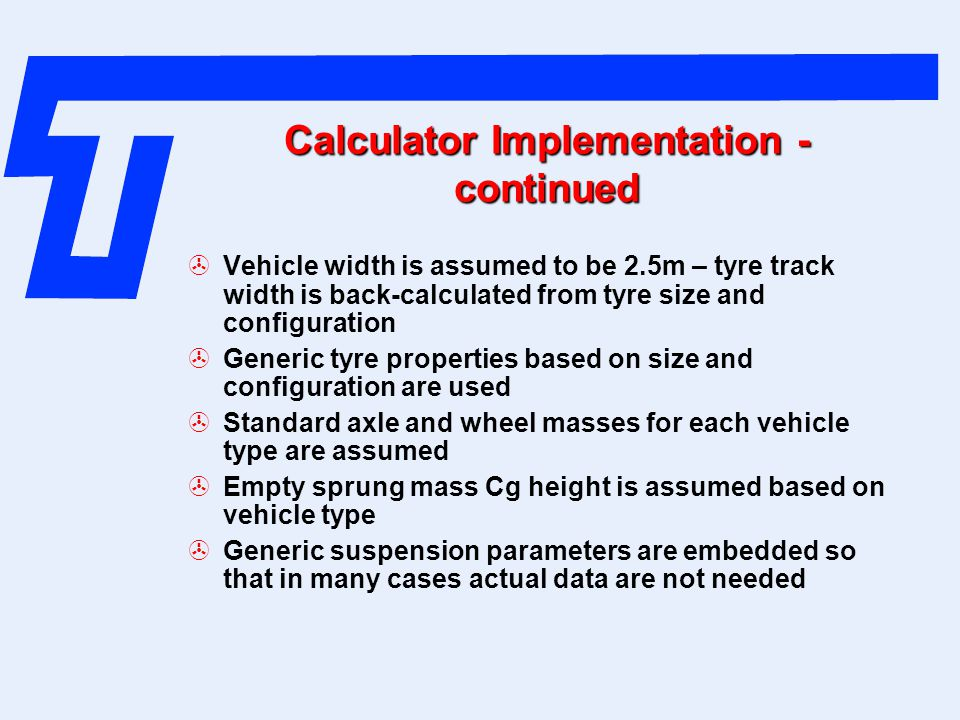 Calculator Implementation -continued