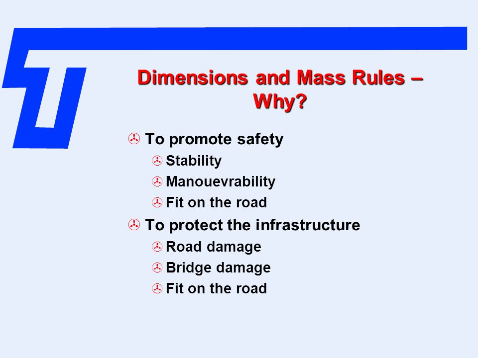 Dimensions and Mass Rules – Why