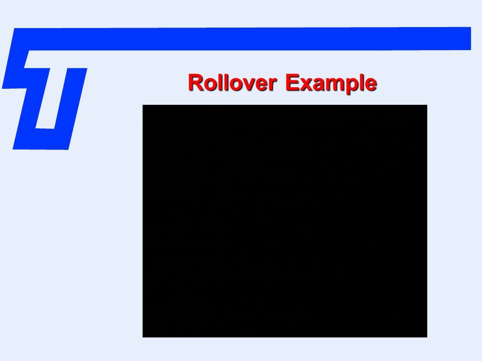 Rollover Example