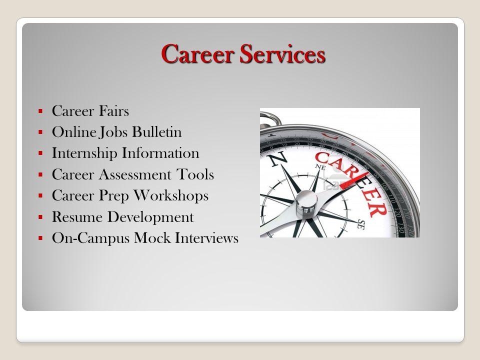 Career Services Career Fairs Online Jobs Bulletin