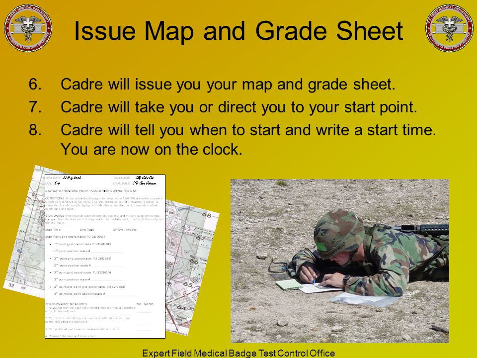 Issue Map and Grade Sheet