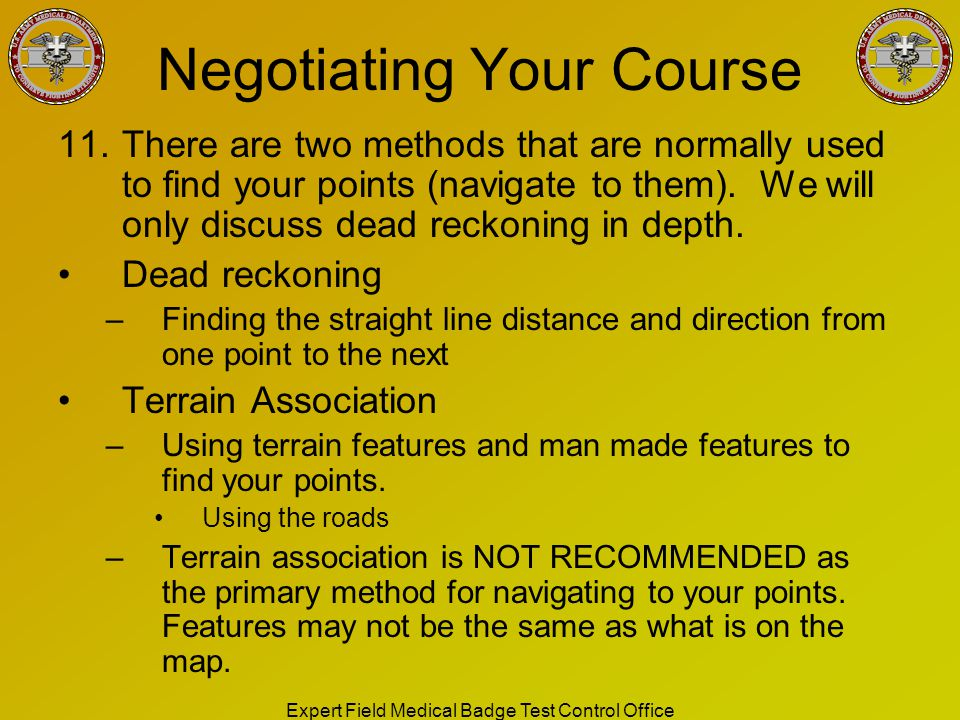 Negotiating Your Course