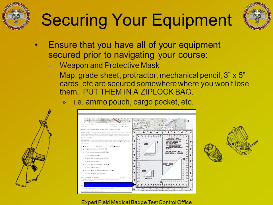 Securing Your Equipment