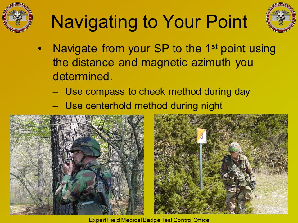 Navigating to Your Point