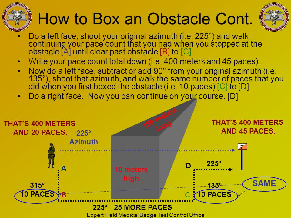 How to Box an Obstacle Cont.