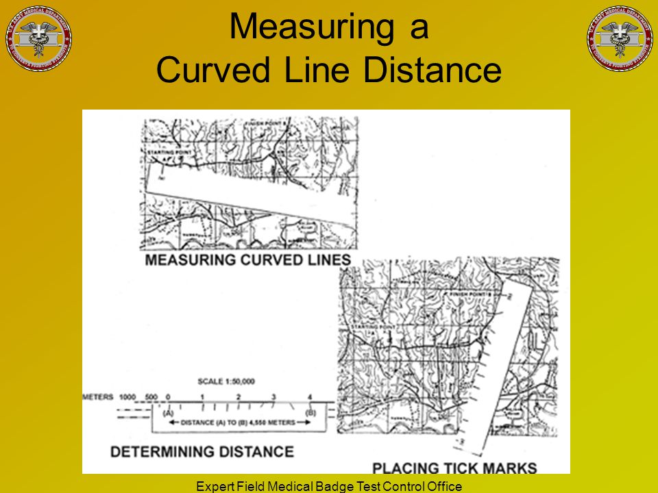 Measuring a Curved Line Distance