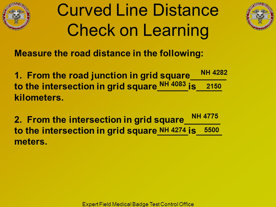 Curved Line Distance Check on Learning
