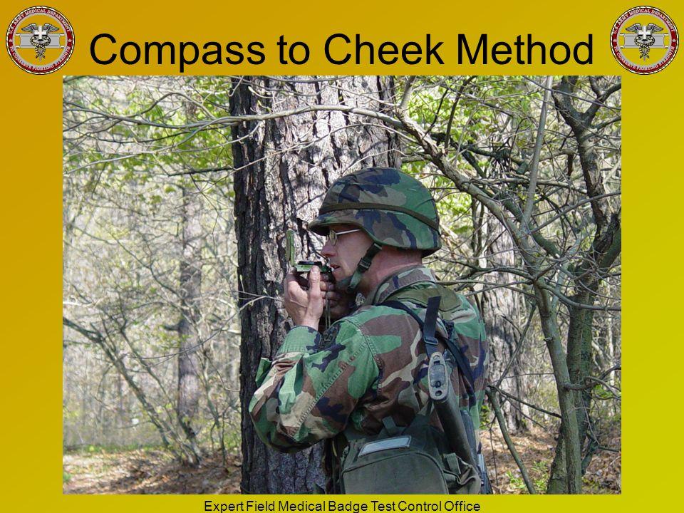 Compass to Cheek Method