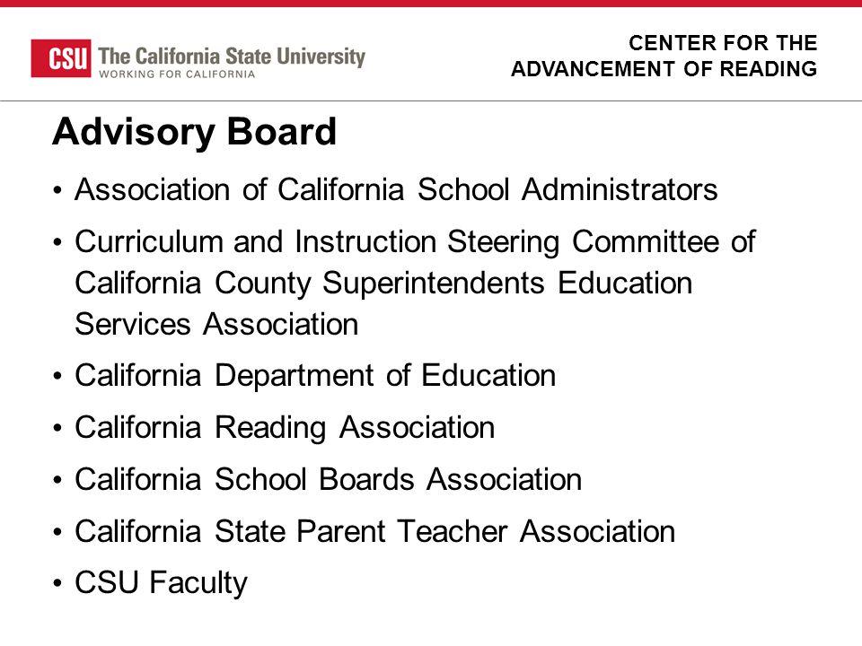 Advisory Board Association of California School Administrators