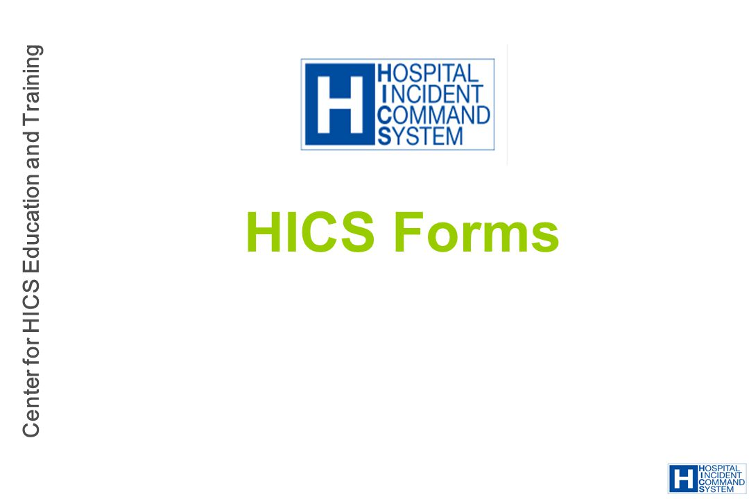 HICS Forms