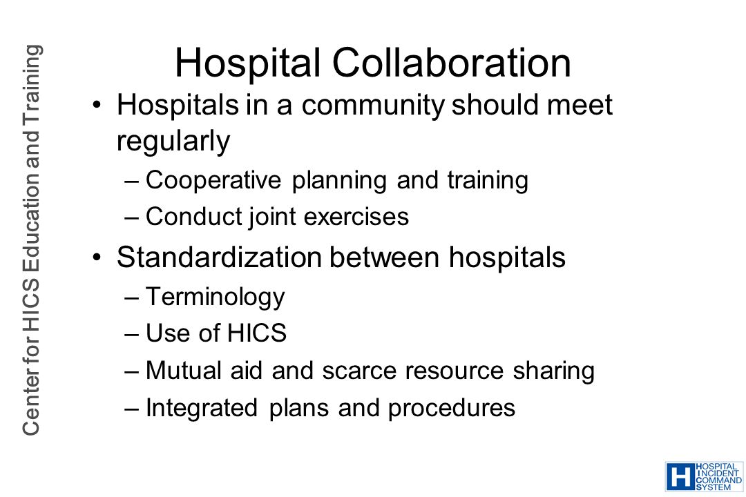 Hospital Collaboration