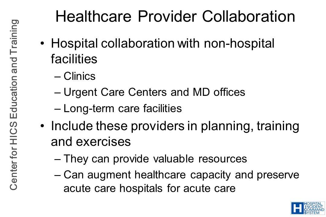 Healthcare Provider Collaboration