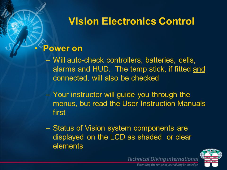 Vision Electronics Control