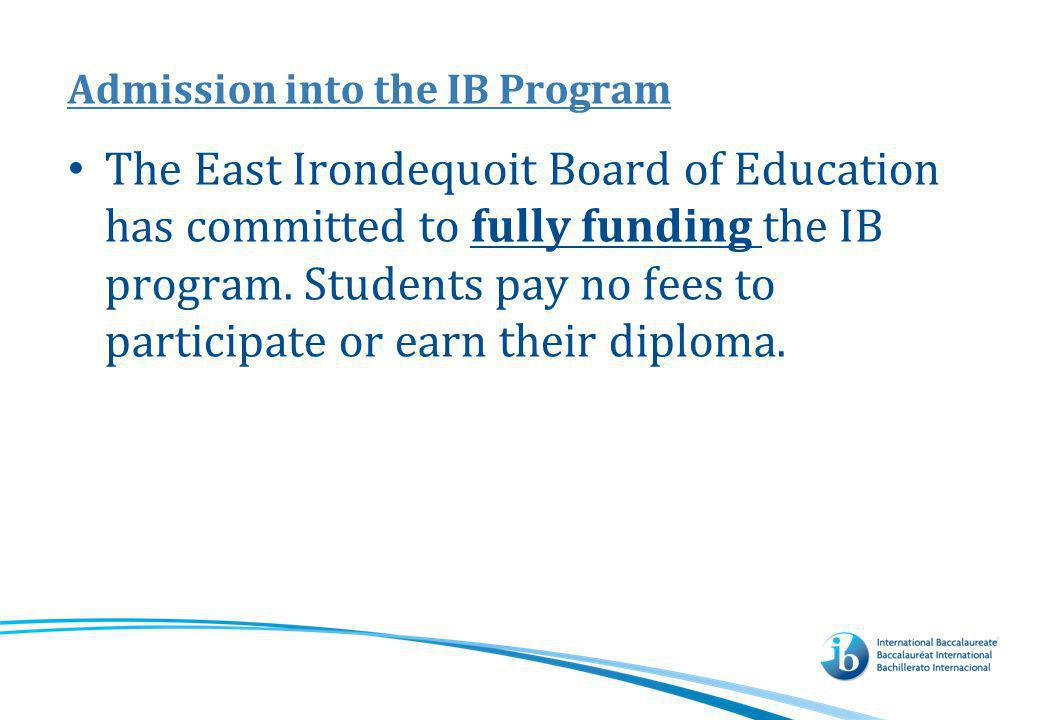 Why should you consider the IB Program