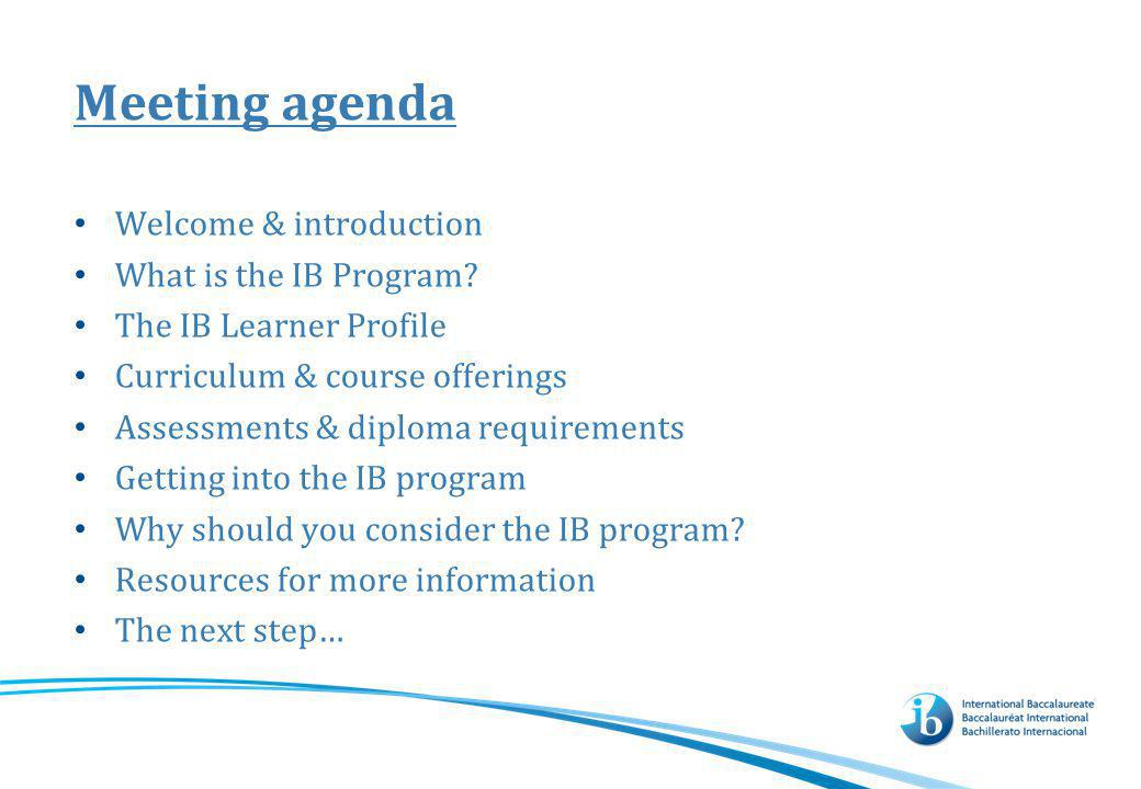 What is the IB organization