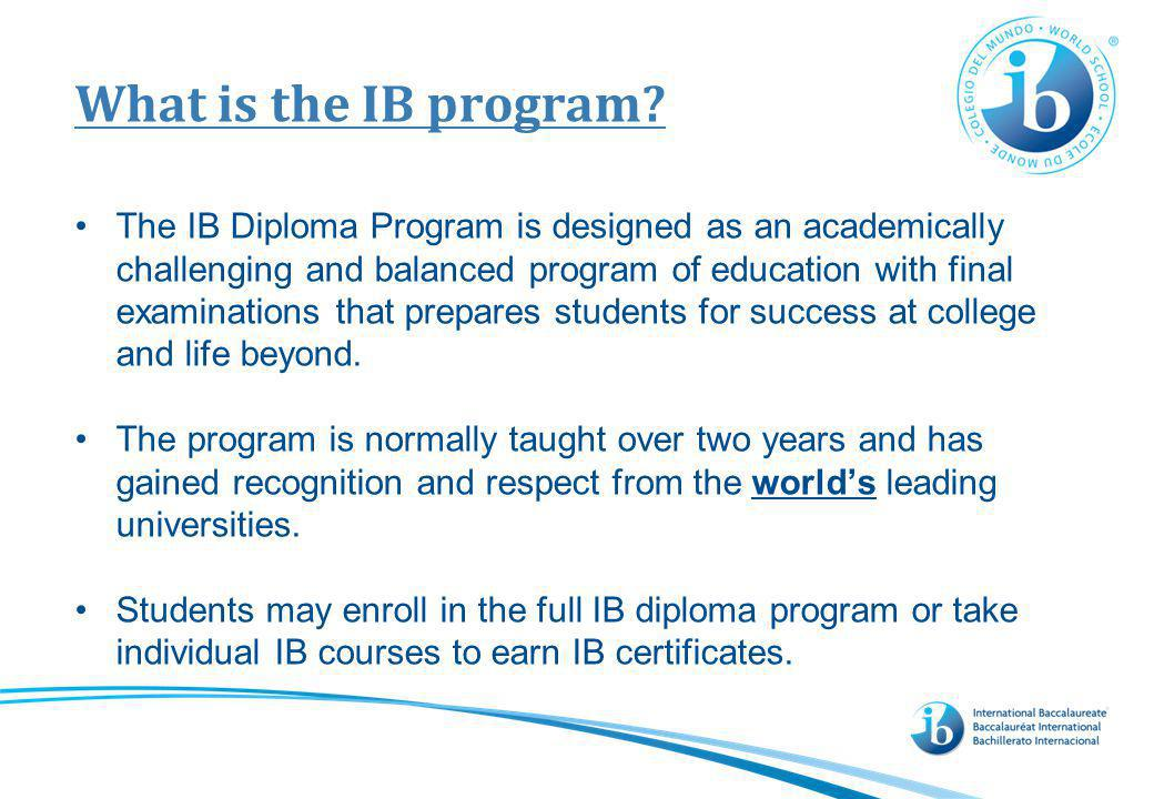 Who is the IB learner The IB learner is: an inquirer, knowledgeable,