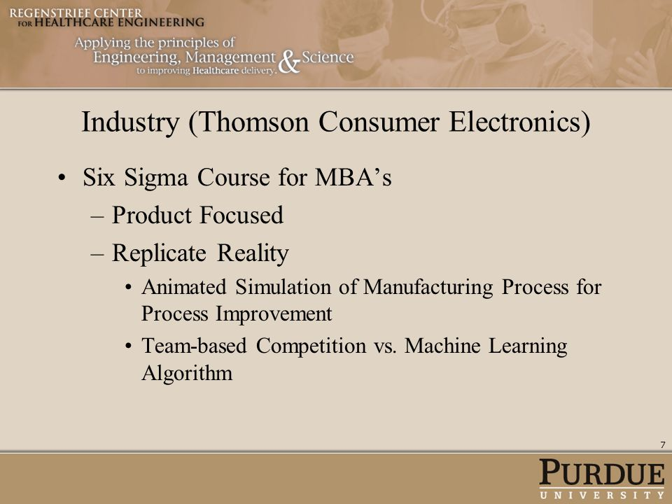 Industry (Thomson Consumer Electronics)