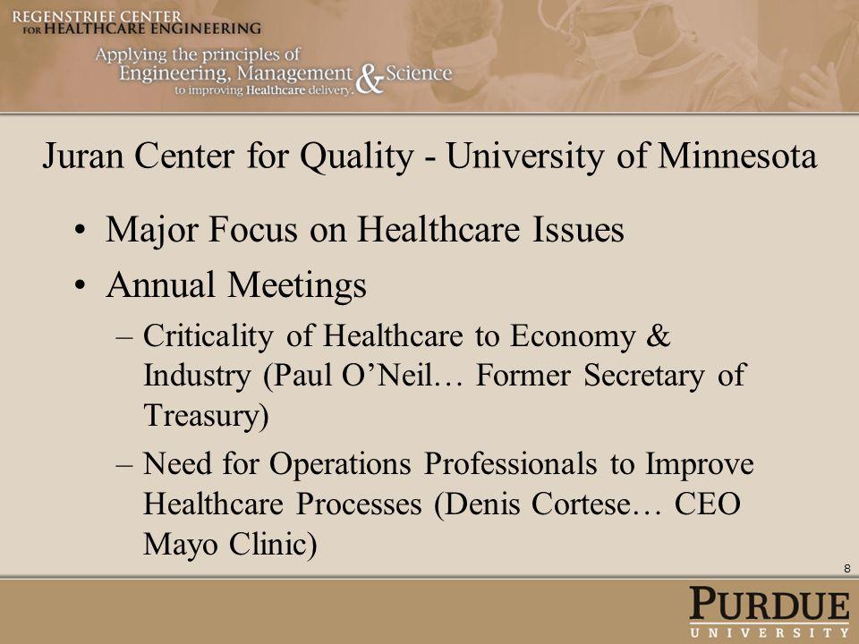 Juran Center for Quality - University of Minnesota