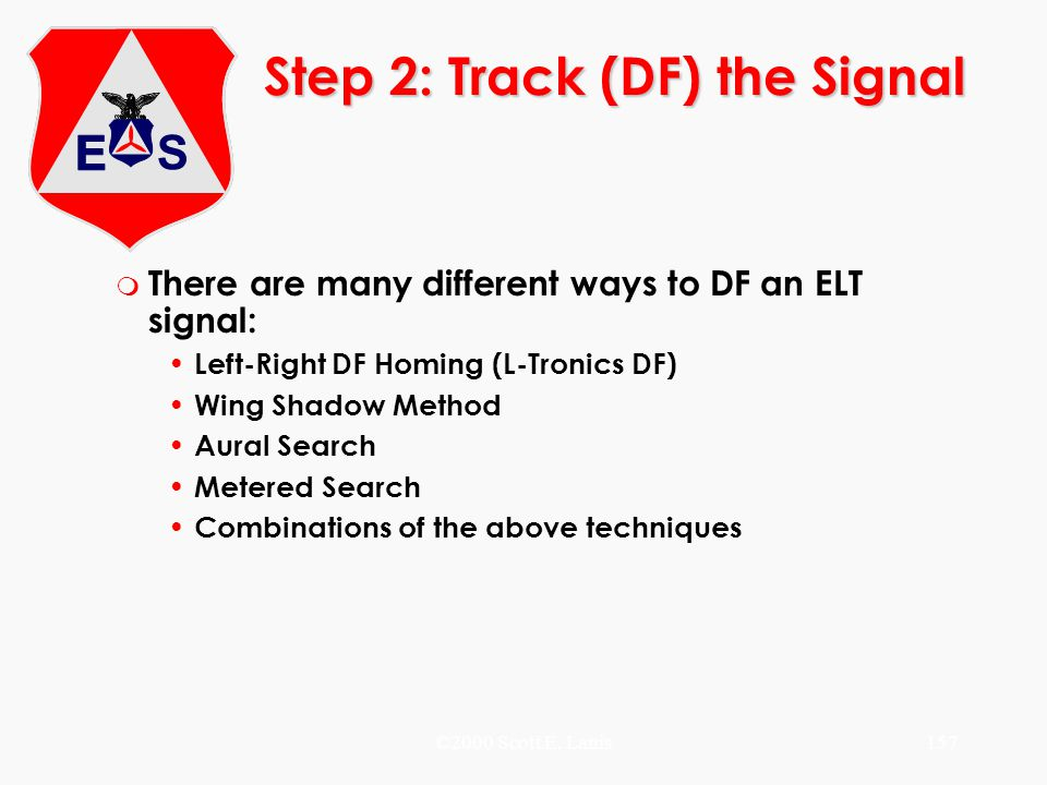 Step 2: Track (DF) the Signal
