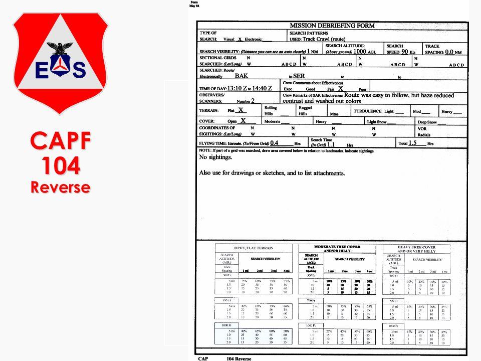 CAPF 104 Reverse 13.10.