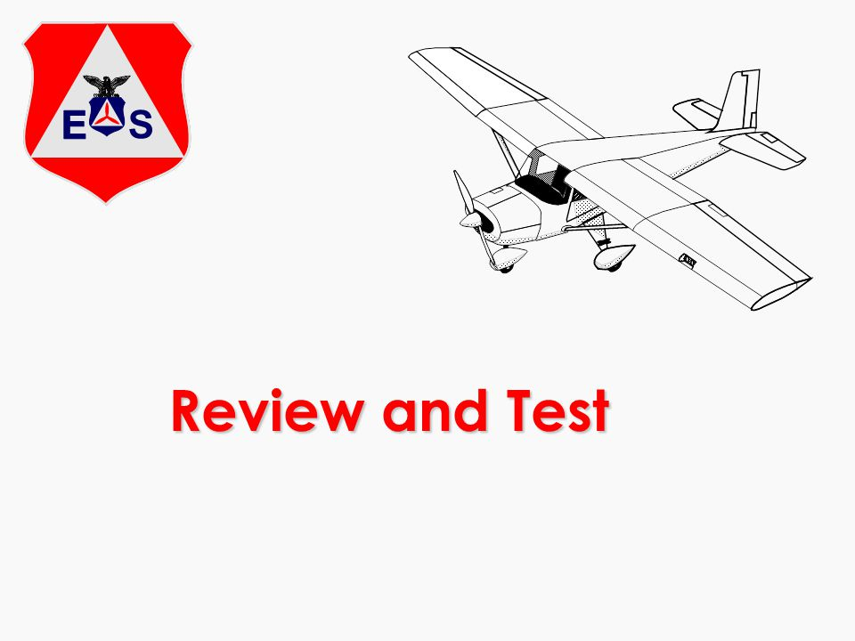 Review and Test Review material as appropriate and administer test.