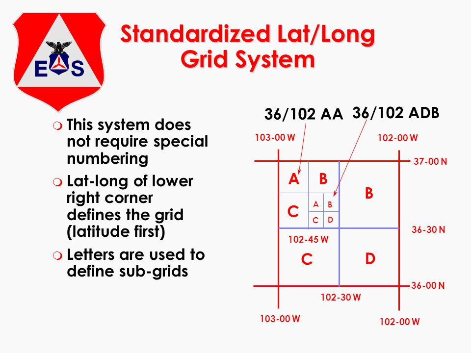 Standardized Lat/Long Grid System